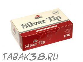Гильзы сигаретные GIZEX SILVER TIP 100 шт