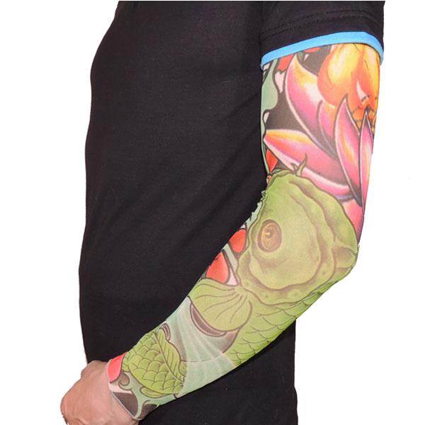 Японский тату рукав с карпом