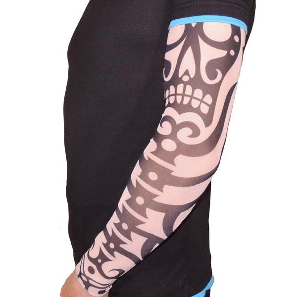 Японский тату рукав - Скелет