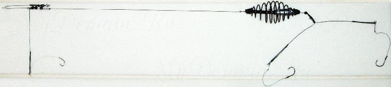 Донная оснастка, спираль, 15г, кр. №4