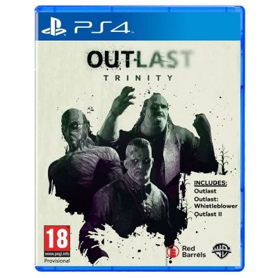 Игра Outlast Trinity (PS4)