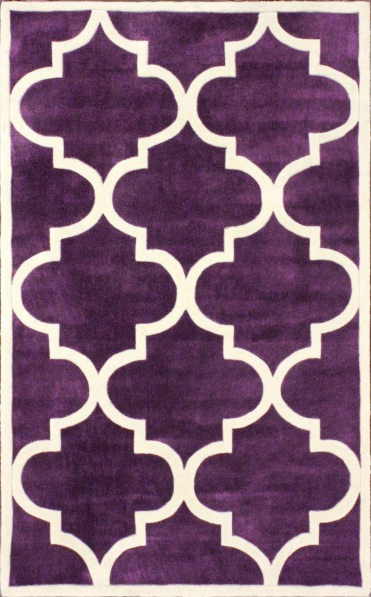Ковер Trelli фиолетовый 1,2 1,8 м