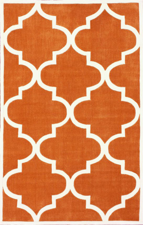 Ковер Trelli оранжевый 1,2 1,8 м