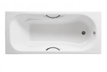 Ванна чугунная Roca Malibu 170x70 с отверстиями под ручки