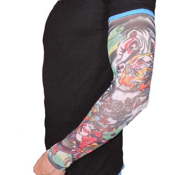 Японский тату рукав - Чертовка