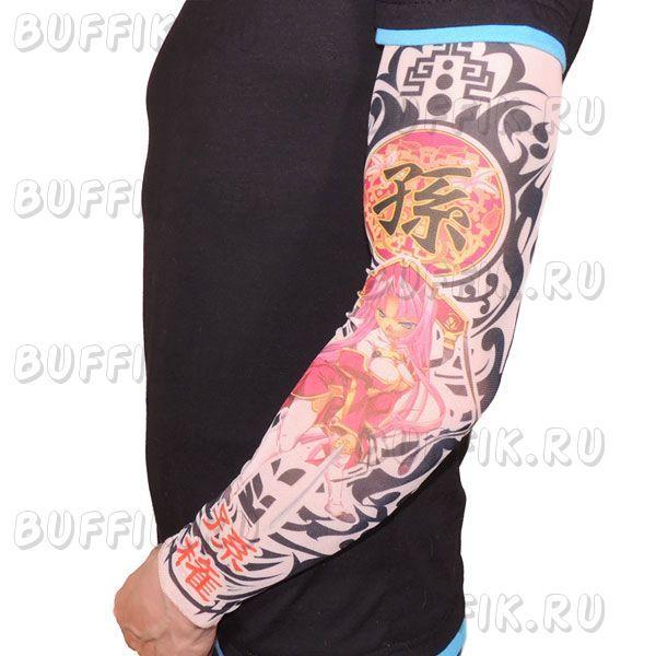 Тату рукав в японском стиле