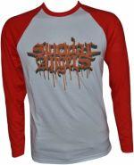 SUICIDAL ANGELS Bloody Logo Baseball Longsleeve L