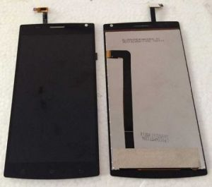 LCD (Дисплей) МегаФон Login+ (plus) (в сборе с тачскрином) (black) Оригинал