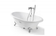 Ванна чугунная Roca New Cast 170x85 white