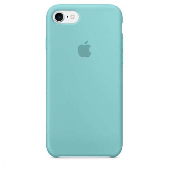 Silicone Case для iPhone 7,iPhone 8 (Синее море)