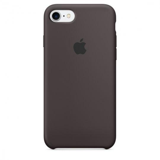 Silicone Case для iPhone 7,iPhone 8 (Тёмное какао)