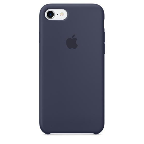 Silicone Case для iPhone 7,iPhone 8 (Тёмно-синий)