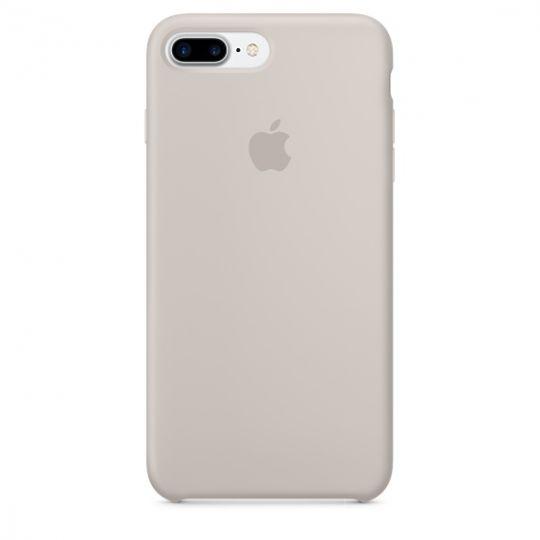 Silicone Case для iPhone 7+,iPhone 8+ (Бежевый)