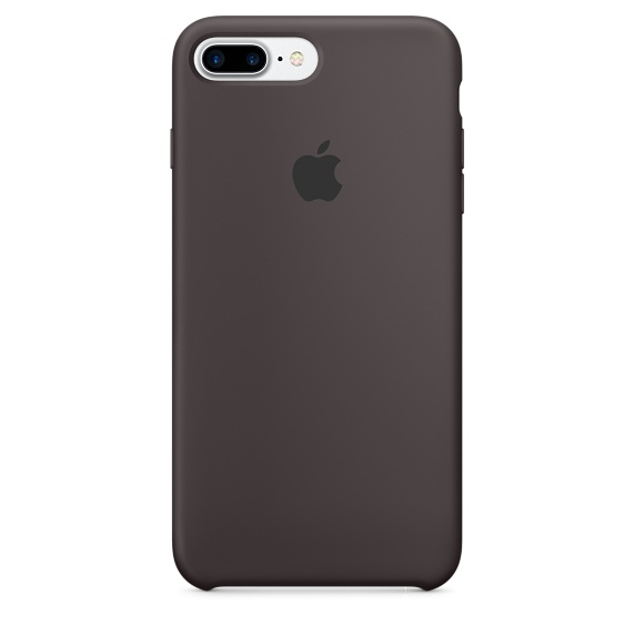 Silicone Case для iPhone 7+,iPhone 8+ (Тёмное какао)