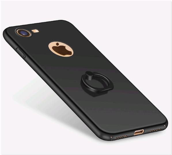 Чехол с кольцом для iPhone 7/8 (черный)