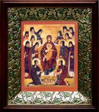 Оптинские старцы (21х24), киот со стразами