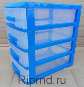 Ящики BOX из пластика для деталей
