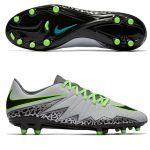 Бутсы Nike Hypervenom Phelon II FG серые