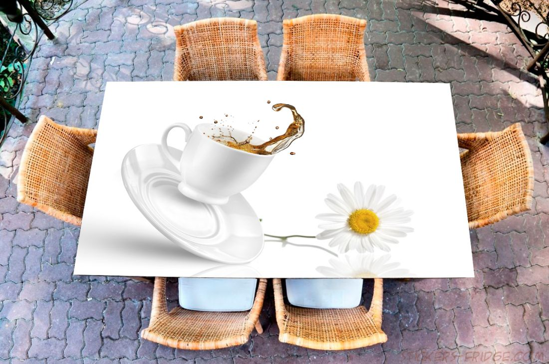 Наклейка на стол - Tea