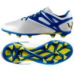 Детские бутсы adidas Messi 15.1 FG/AG Junior белые