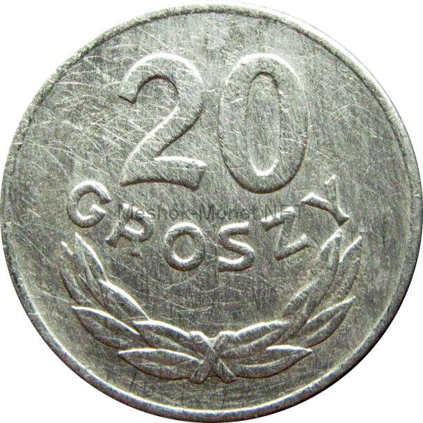 Польша 20 грош 1949 г.