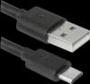 Распродажа!!! USB кабель USB08-03BH USB2.0 черный, AM-MicroBM, 1м