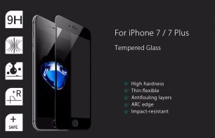 Защитное стекло 3D на iPhone 7