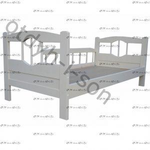 Кровать Ника (ВМК Шале), любые размеры