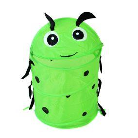 """Корзина для игрушек """"Зеленый жук"""" 38*45 см"""