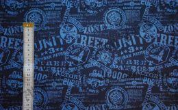 Урбан на темно-синем 01 Дюспа 240Т