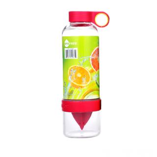 Бутылка соковыжималка Citrus Zinger, цвет красный