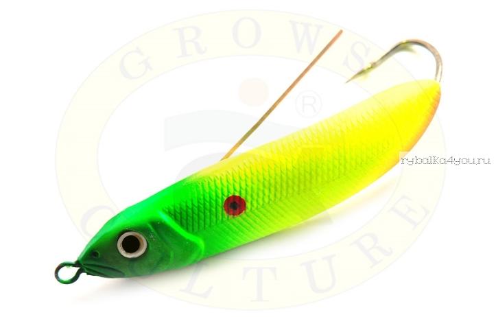 Блесна незацепляйка Grows Culture Minnow Spoon 6019 70мм / 14 гр / заглубление: 0,1 - 0,5м/ цвет: 007