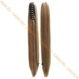 Искусственные термостойкие волосы на зажиме прямые №006A (55 см) -  150 гр.
