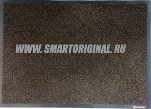 Смарт.ру Ковёр Каучук асептик 85х150 см чёрно-коричневый