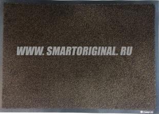 Смарт.ру Ковёр Каучук асептик 85 х 150 см чёрно-коричневый