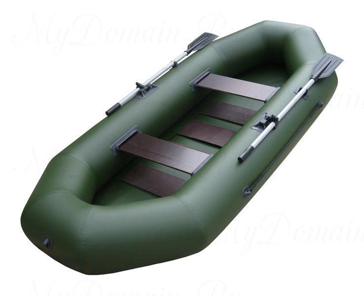 Лодка ТОНАР Шкипер 280 (зеленый)