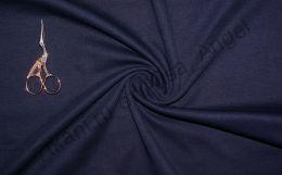 Темно-синий интерлок