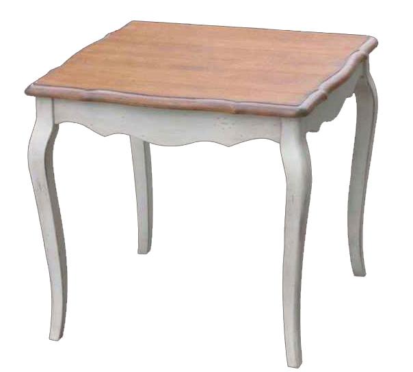 Обеденный стол Квадратный Mobilier de Maison Белый