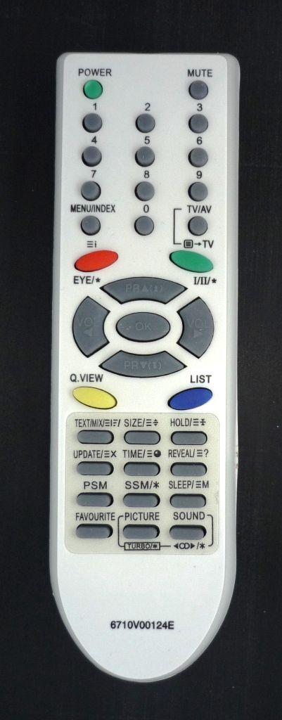 LG 6710V00124E (TV) (RT-15FB55M, RT-21FE61RX, RT-29FE6RLX, CT-21Q45RQ, CT-25Q45RQ, CT-29Q45RQ, 21FX5RLX)