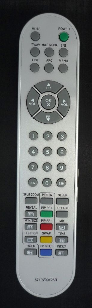 LG 6710V00126R (LCD pip) (RT-42PX11, RT-42PX21)