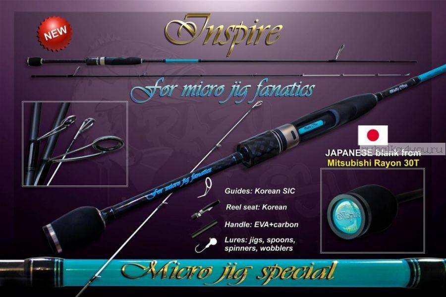 Спиннинг Crazy Fish INSPIRE I-662 UL-S (1-7g 200сm 2-4lb)