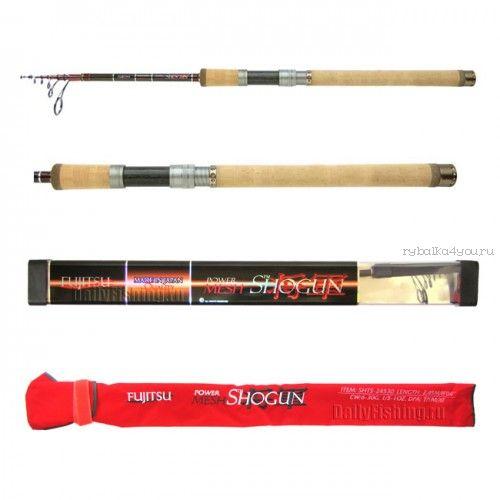 Купить Спиннинг телескоп. Fujitsu Shogun SHTS Fishing Roos TP/M/XF 2,45 м / тест 6 - 30 гр