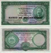 Мозамбик - 100 эскудо 1961 ПРЕСС UNC