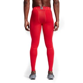 Компрессионные штаны Nike Pro Warm Tights красные