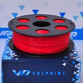 PLA пластик VolPrint 1,75мм красный, 1кг