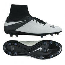 Бутсы Nike Hypervenom Phantom II Leather FG белые