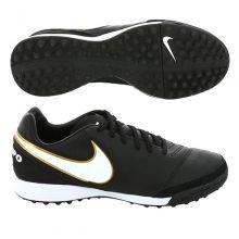 Шиповки-сороконожки Nike Tiempo Mystic V TF чёрные