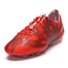 Бутсы adidas F50 adizero FG красные