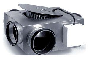 Низкопрофильный канальный вентилятор в изолированном корпусе  LPKBI 200 B