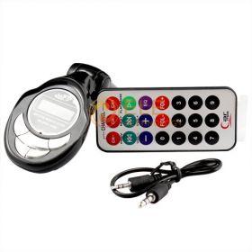 Автомобильный MP3-FM модулятор+ пульт дистанционного управления